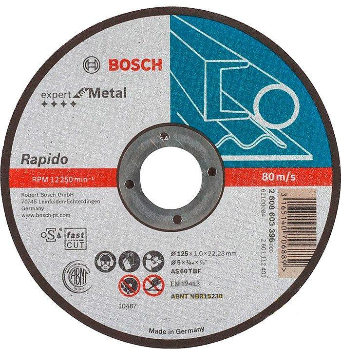 Круг отрезной Bosch Expert for Metal прямой 1251 мм (2608603396)