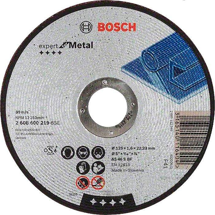 Круг отрезной Bosch Expert for Metal прямой 1251,6 мм (2608600219)