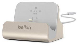 Док-станция BELKIN Charge+Sync MIXIT iPhone 6s/SE Dock, Gold