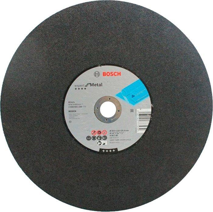 Круг отрезной Bosch Expert for Metal прямой 3552,8 мм (2608601238)