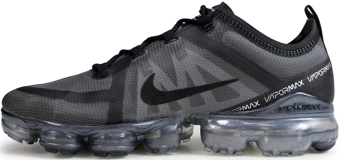 20c44390 Мужские кроссовки Nike Air VaporMax 2019 Black/Grey - Магазин обуви с  хорошими ценами в