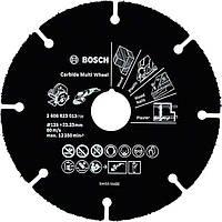 Круг отрезной Bosch Multi Wheel по древесине HM 125×1 мм (2608623013)