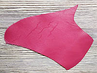 Кожа натуральная для рукоделия Розовая 18*10см, №001