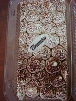Брендирование кондитерских изделий — шоколадный декор Tiramisu