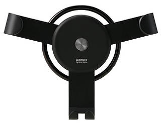 Держатель Автомобильное для смартфонов Remax Holder Gravity black