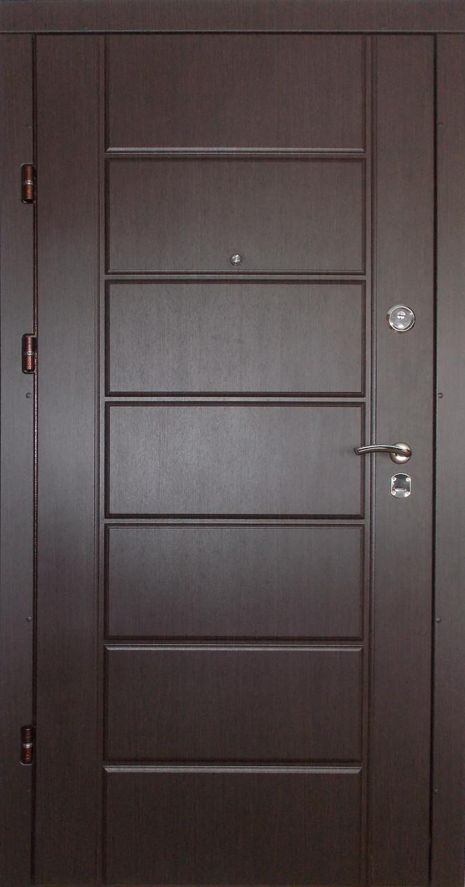 Входные двери Редфорт Канзас МДФ венге