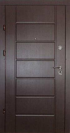 Входные двери Редфорт Канзас МДФ венге, фото 2