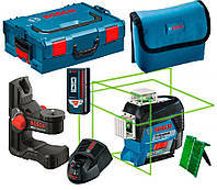 Лазерный нивелир Bosch GLL 3-80 CG+BM1+LR 7+L-Boxx 136 (0601063T05)