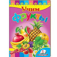 Детская книжка Пегас 16*22см Развивайка, Учим фрукты (рус) 134790