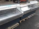Линия холодильных витрин бу.. б/у. витрина 1,35 м. 1,55 м., фото 3