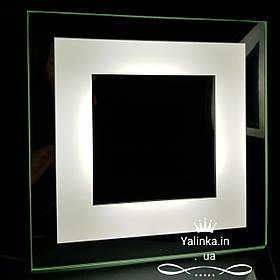 Зеркало для макияжа LED со светодиодной подсветкой ver-3040 295х295 мм