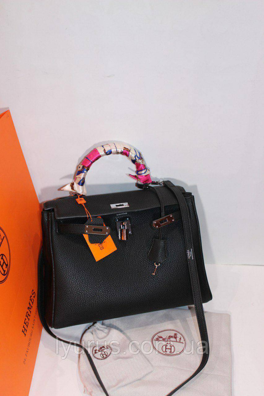 a249afcae2f1 Женская кожаная сумка в стиле Hermes Kelly , цена 2 099 грн., купить в  Полтаве — Prom.ua (ID#925708883)