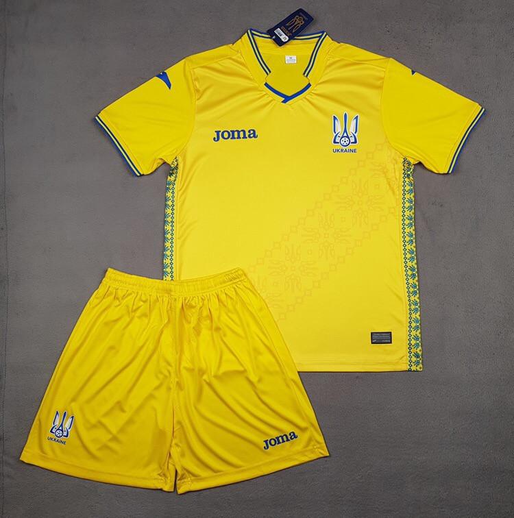 Футбольная форма  Украина желтая  2019