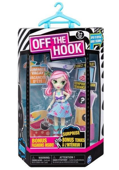 """Off the Hook: стильная кукла Дженни (серия """"Летний отпуск"""") SM74300/0083"""