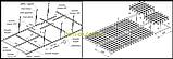 Потолок Грильято стандарт ячейка 86х86 мм, цвет коричневый RAL 8017, фото 4