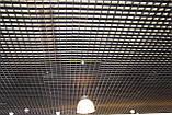 Потолок Грильято стандарт ячейка 86х86 мм, цвет коричневый RAL 8017, фото 5