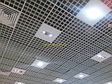 Потолок Грильято стандарт ячейка 86х86 мм, цвет коричневый RAL 8017, фото 10