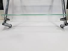 Полка на 4-е отверстия 350Х350 мм ( Два стекла ) ПС612, фото 2