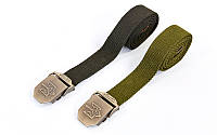 Пояс тактический Украина Tactical Belt 6663: размер 120х3,5см, 2 цвета