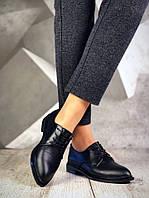 Женские черные туфли Bridgies на низком ходу, фото 1