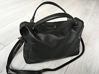 Магазин сумок из Италии по выгодной цене , кожаные сумки  в черном цвете, фото 1