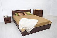 Двуспальная кровать из бука София Люкс ТМ Олимп