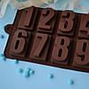 """Форма  для шоколада """"Цифры"""""""