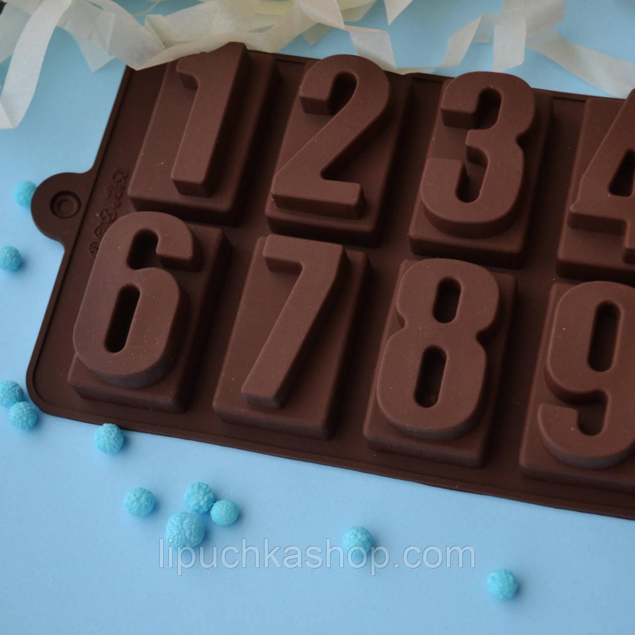 """Форма  для шоколада """"Цифры"""", фото 1"""