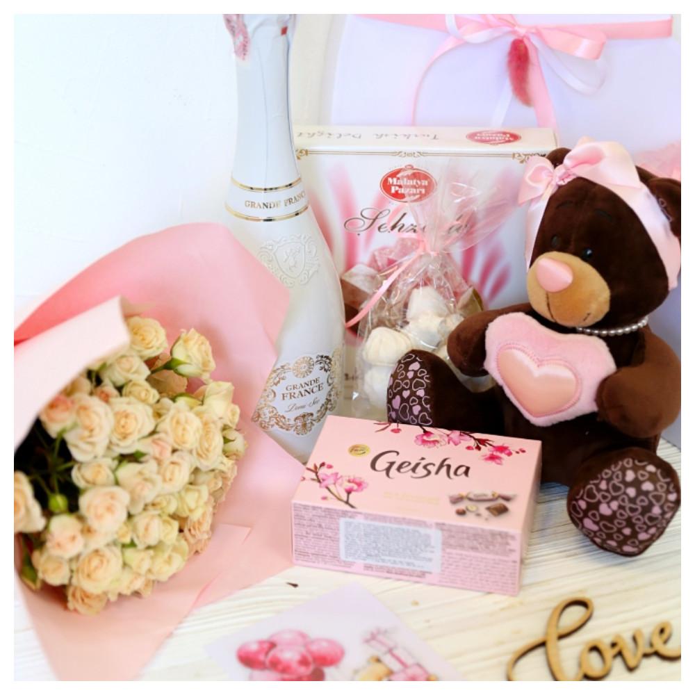 Подарочный набор «Розовый презент»