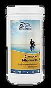 Хлор быстрый гранулированный  для шоковой дезинфекции воды бассейна Chemoform, 1 Кг