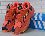 Женские кроссовки Adidas Yeezy Yung-1 Red Suede, фото 6