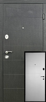 Входные двери Редфорт Элегант венге/белое дерево, фото 2