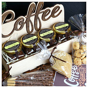 """Подарочный набор """"4 coffee """""""