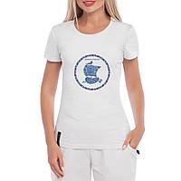 Женская футболка Герб Днепра