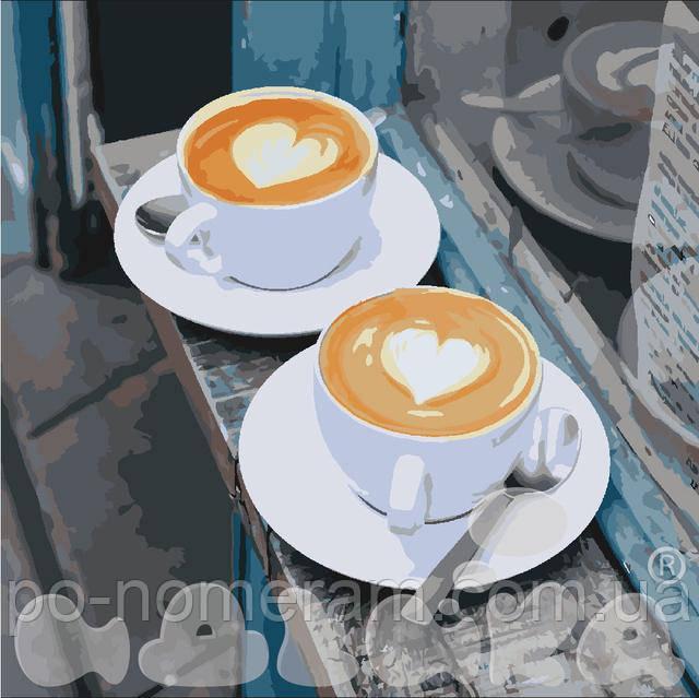 картины по номерам кофе 2 уровень сложности купить в киеве