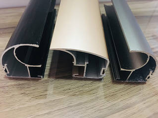 Каталог декоров и форм алюминиевого профиля для дверей купе