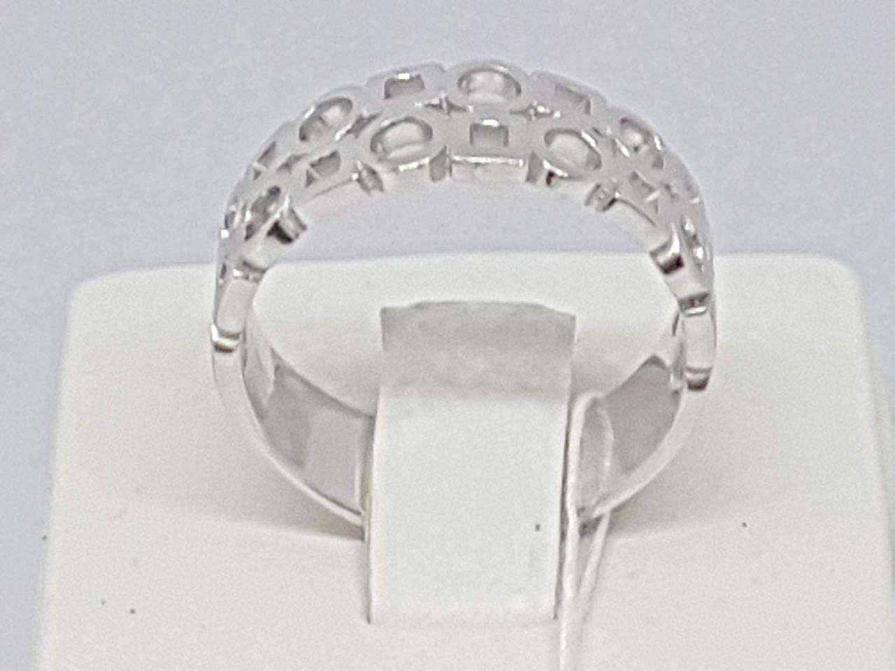 Серебряное кольцо. Артикул 10097Р 19,5