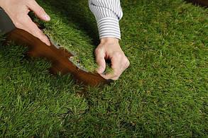 Применение пазлов с искусственной травой