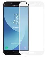 Защитное стекло для Samsung J5 2017 J530 Full Cover Rinco (White)