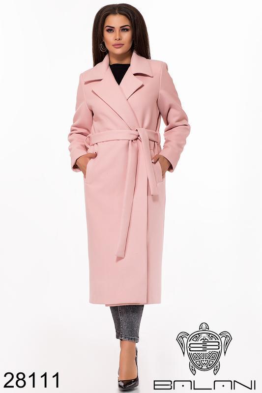 Пальто женское демисезонное размеры: 48-58