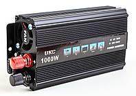 Преобразователь напряжения, инвертор 12-220V UKC AC/DC 1000W SSK, фото 1