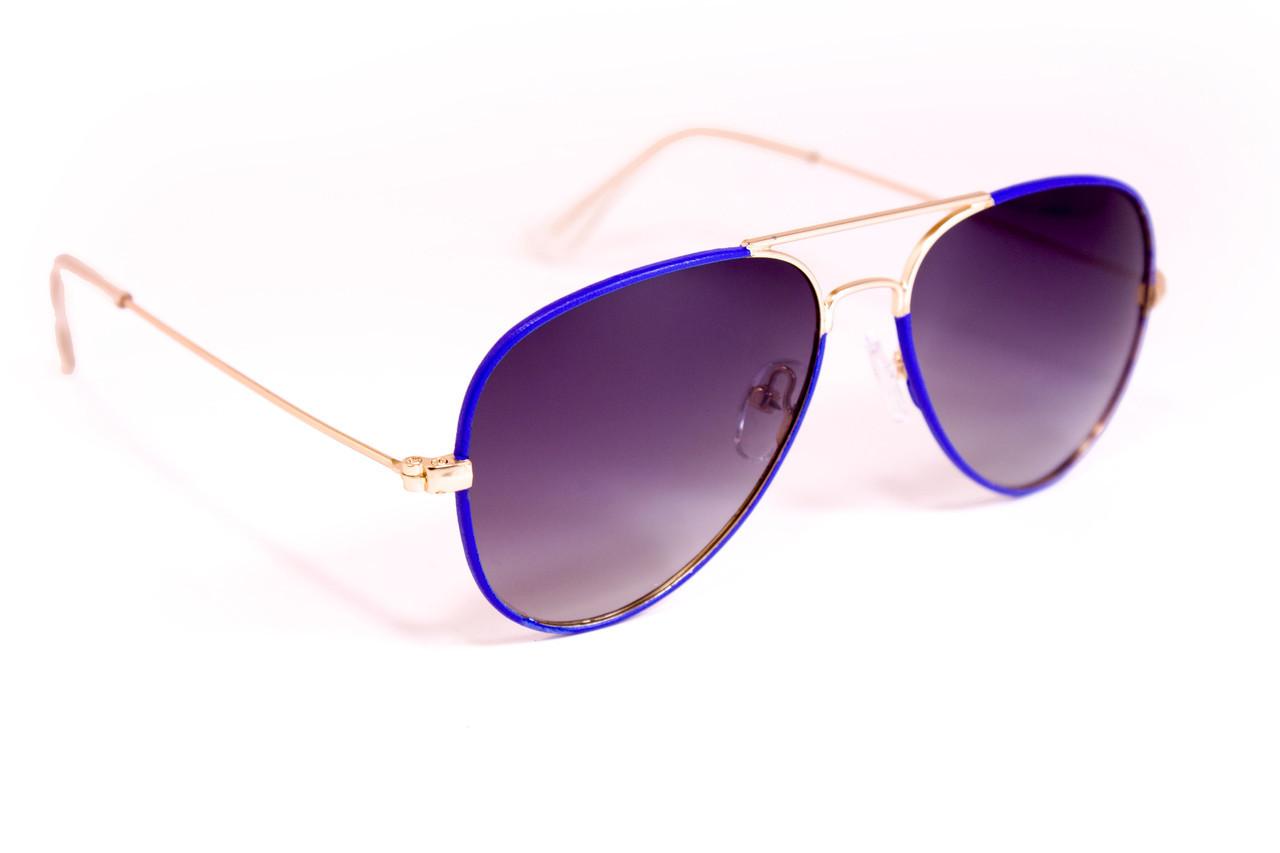 Детские очки (синяя оправка) polarized D3026-4