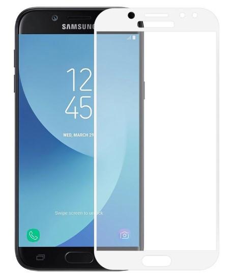 Защитное стекло для Samsung J7 2017 J730 Full Cover Rinco (White)