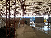 Строительство ангаров для зерна