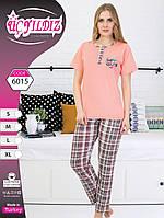 Пижама женская футболка+штаны