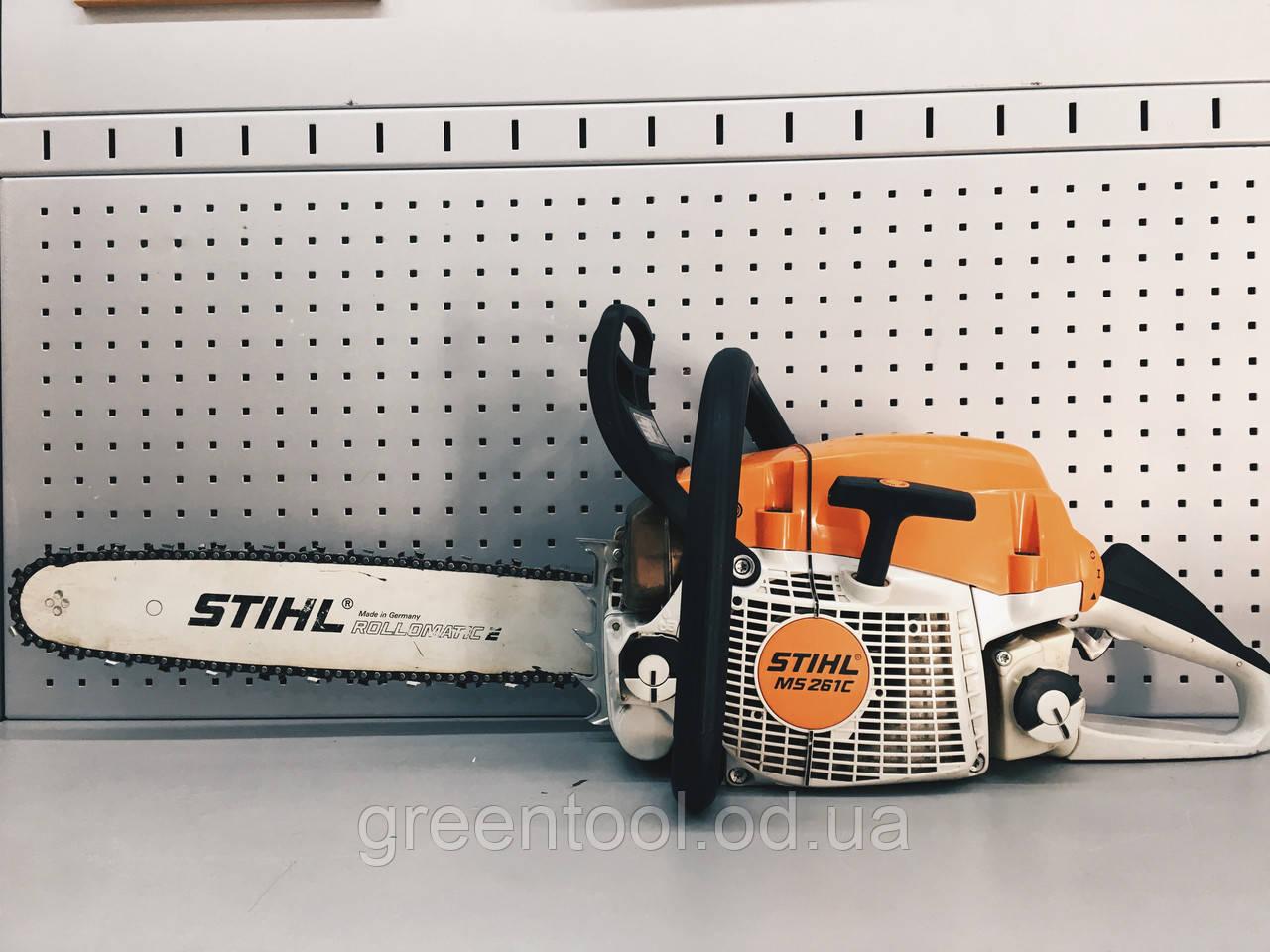 Аренда бензопилы STIHL MS 261 CM-Q
