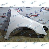 Крыло переднее правое белое для Skoda Octavia A5 2008-2013