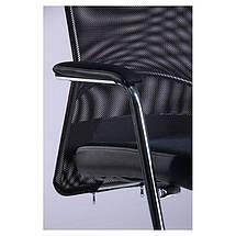 Кресло Аэро CF хром сиденье сетка Черная, Неаполь N-20/Спинка сетка черная TM AMF, фото 3