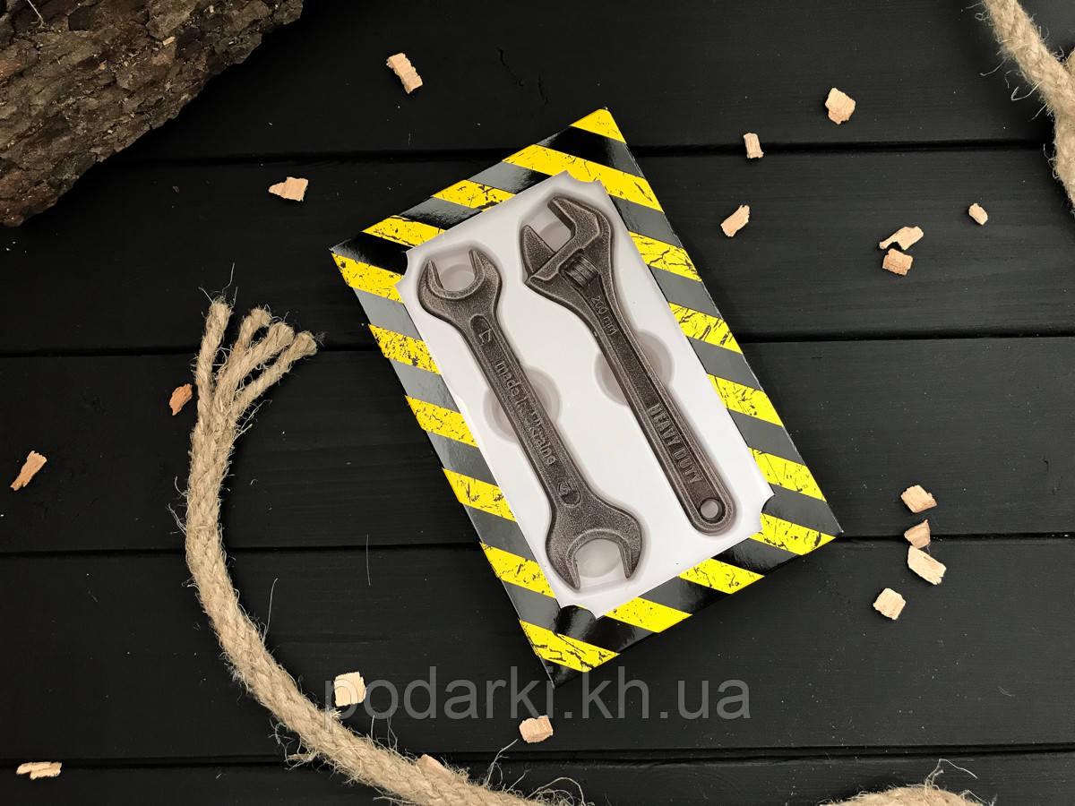 Шоколадные мини инструменты Ключи