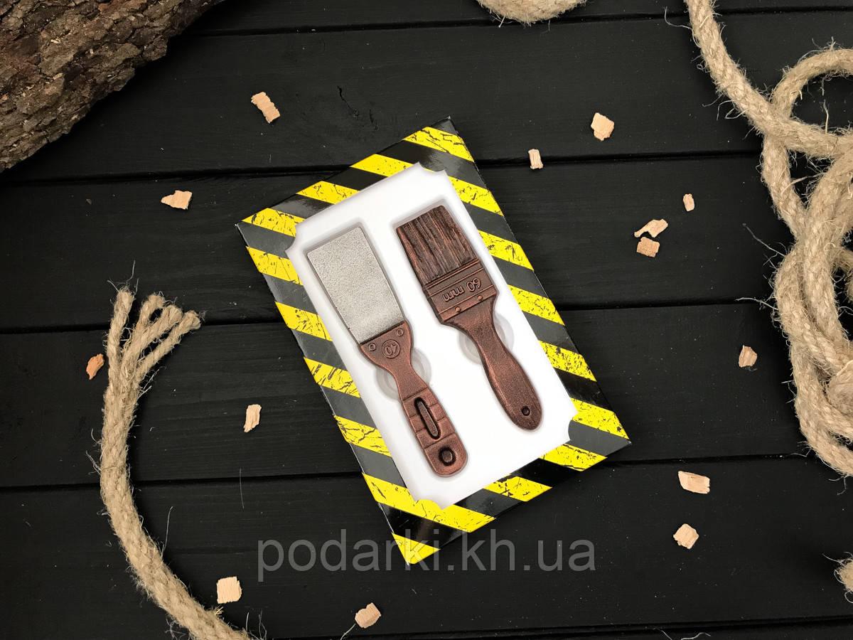 Шоколадные мини инструменты Маляр
